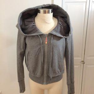 lululemon athletica Grey Large Hood Sweatshirt 6